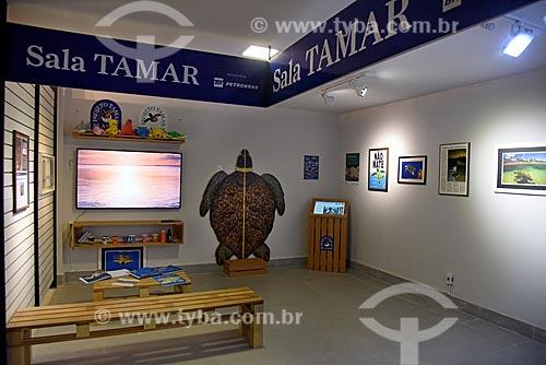 Sala do Projeto TAMAR no interior do AquaRio - aquário marinho da cidade do Rio de Janeiro  - Rio de Janeiro - Rio de Janeiro (RJ) - Brasil