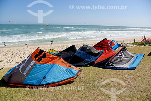 Kitesurf na Praia da Barra da Tijuca  - Rio de Janeiro - Rio de Janeiro (RJ) - Brasil