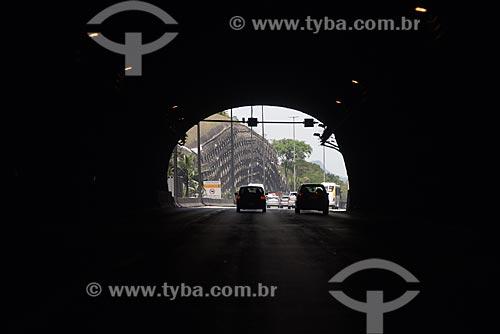 Tráfego em túnel da Linha Amarela  - Rio de Janeiro - Rio de Janeiro (RJ) - Brasil