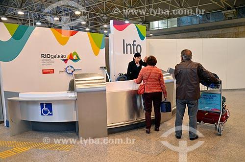 Posto de informação turística no Aeroporto Internacional Antônio Carlos Jobim  - Rio de Janeiro - Rio de Janeiro (RJ) - Brasil