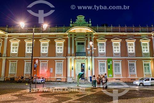 Fachada do Faculdade de Medicina da Universidade Federal da Bahia (1808) - primeira faculdade de medicina do Brasil - a partir do Terreiro de Jesus  - Salvador - Bahia (BA) - Brasil