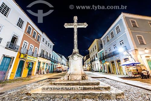 Cruzeiro no Largo do Cruzeiro de São Francisco  - Salvador - Bahia (BA) - Brasil
