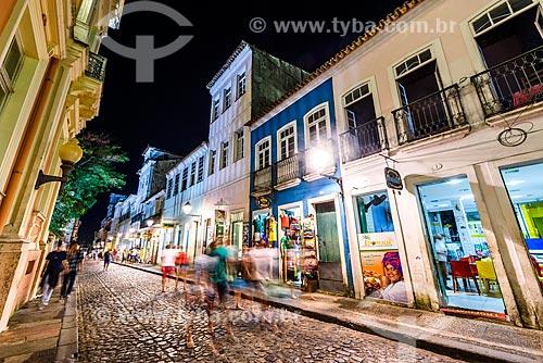 Movimentação das pessoas na Rua Alfredo de Brito  - Salvador - Bahia (BA) - Brasil