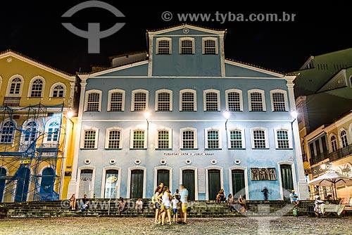 Fachada da Fundação Casa de Jorge Amado no Pelourinho  - Salvador - Bahia (BA) - Brasil