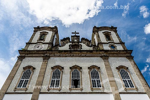 Fachada do Igreja de Nosso Senhor do Bonfim (1754)  - Salvador - Bahia (BA) - Brasil