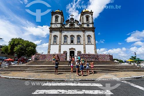 Fachada da Igreja de Nosso Senhor do Bonfim (1754)  - Salvador - Bahia (BA) - Brasil
