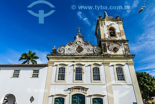 Fachada da Igreja de Nossa Senhora da Penha (1742)  - Salvador - Bahia (BA) - Brasil