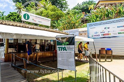 Posto de informação turística no Morro de São Paulo  - Cairu - Bahia (BA) - Brasil