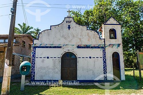 Fachada da Igreja de São Francisco de Assis  - Cairu - Bahia (BA) - Brasil