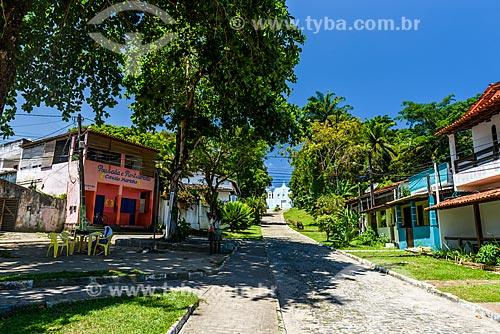 Casas na Vila de Velha Boipeba  - Cairu - Bahia (BA) - Brasil