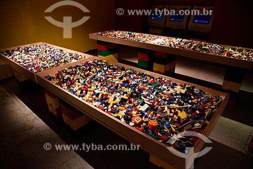 Exposição - Art Of The Brick - de esculturas de blocos de LEGO do artista Nathan Sawaya no Museu Histórico Nacional  - Rio de Janeiro - Rio de Janeiro (RJ) - Brasil