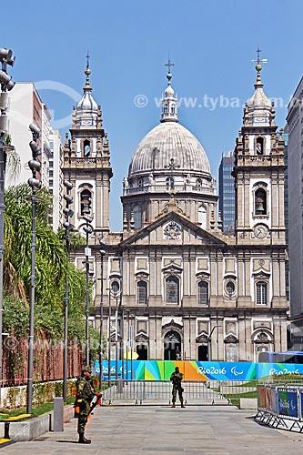 Igreja de Nossa Senhora da Candelária (1609)  - Rio de Janeiro - Rio de Janeiro (RJ) - Brasil