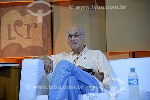 Escritor Zuenir Ventura no Salão Carioca do Livro  - Rio de Janeiro - Rio de Janeiro (RJ) - Brasil