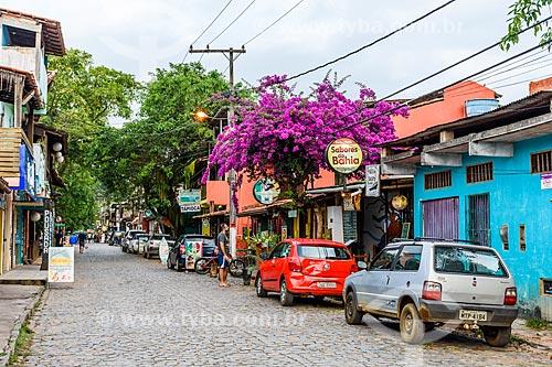Lojas na Rua Pedro Longo  - Itacaré - Bahia (BA) - Brasil