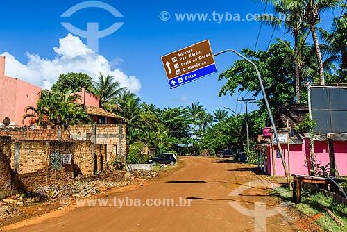 Estrada de Terra próxima à Praia das Conchas  - Itacaré - Bahia (BA) - Brasil