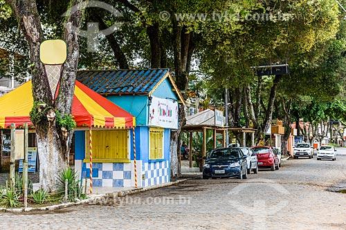 Rua na cidade de Itacaré  - Itacaré - Bahia (BA) - Brasil