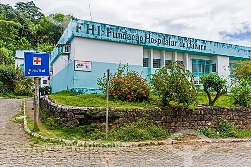 Fachada da Fundação Hospitalar de Itacaré  - Itacaré - Bahia (BA) - Brasil