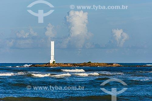 Vista do Farol da Ponta do Xaréu  - Itacaré - Bahia (BA) - Brasil