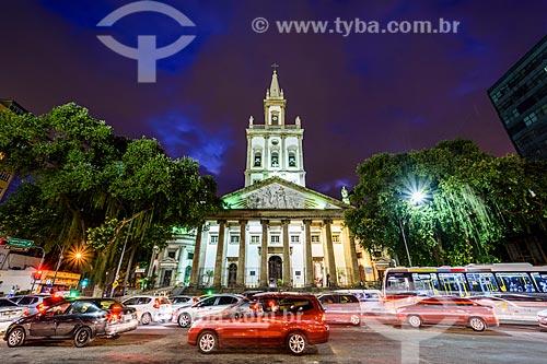 Fachada da Igreja Matriz de Nossa Senhora da Glória (1872)  - Rio de Janeiro - Rio de Janeiro (RJ) - Brasil