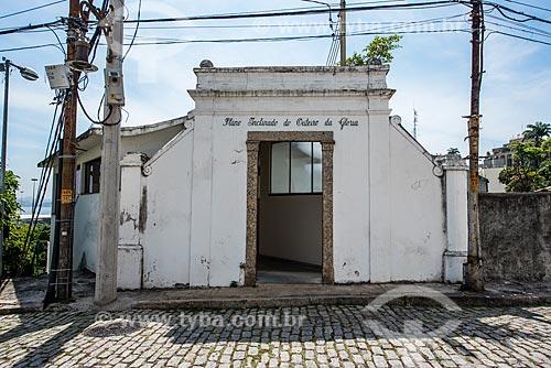 Saída do plano inclinado da Igreja de Nossa Senhora da Glória do Outeiro (1739)  - Rio de Janeiro - Rio de Janeiro (RJ) - Brasil