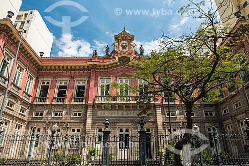 Fachada do Colégio Estadual Amaro Cavalcanti (1875)  - Rio de Janeiro - Rio de Janeiro (RJ) - Brasil