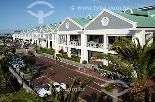 Fachada do Victoria Wharf Shopping Center  - Cidade do Cabo - Província do Cabo Ocidental - África do Sul
