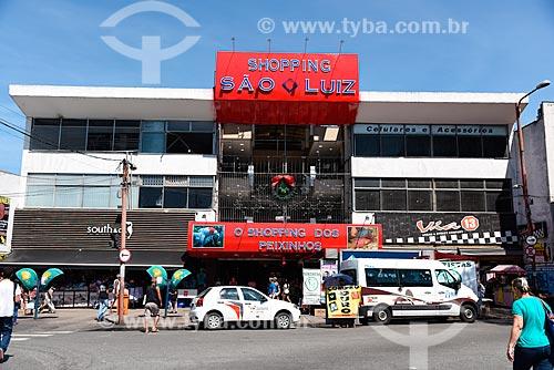 Fachada do Shopping São Luíz - também conhecido como Shopping dos Peixinhos  - Rio de Janeiro - Rio de Janeiro (RJ) - Brasil