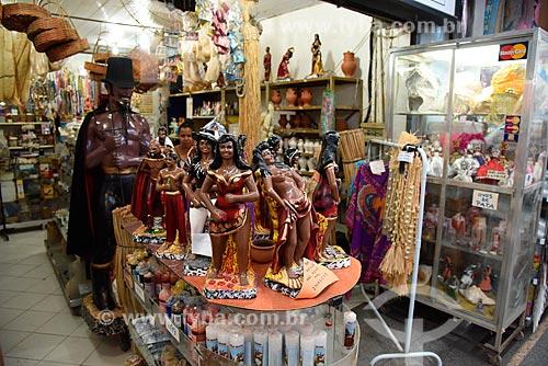 Loja de artigos religiosos no Grande Mercado de Madureira (1959) - mais conhecido como Mercadão de Madureira  - Rio de Janeiro - Rio de Janeiro (RJ) - Brasil