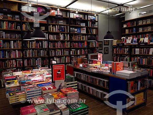 Interior da nova Livraria Leonardo Da Vinci  - Rio de Janeiro - Rio de Janeiro (RJ) - Brasil