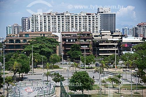 Vista geral da Praça São Perpétuo - também conhecida como Praça do Ó  - Rio de Janeiro - Rio de Janeiro (RJ) - Brasil