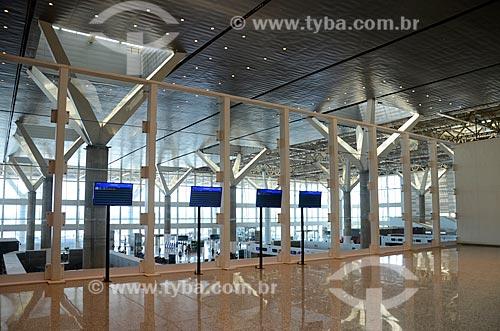 Hall do Aeroporto Internacional de Viracopos  - Campinas - São Paulo (SP) - Brasil