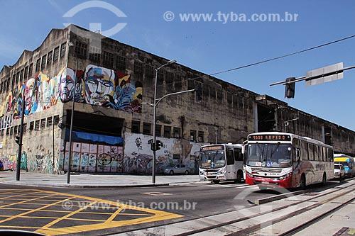 Trânsito na Zona Portuária  - Rio de Janeiro - Rio de Janeiro (RJ) - Brasil