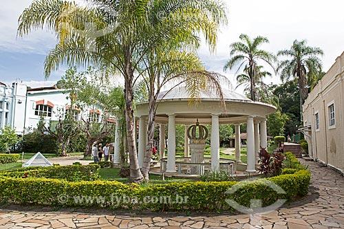 Fonte Dom Pedro no Parque Dr. Lisandro Carneiro Guimarães (Parque das Águas de Caxambu)  - Caxambu - Minas Gerais (MG) - Brasil