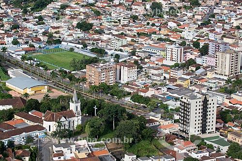 Vista geral da cidade de Caxambu a partir do Morro do Cruzeiro  - Caxambu - Minas Gerais (MG) - Brasil