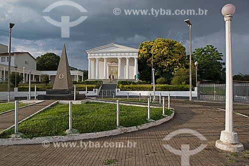 Vista geral do Templo sede da Sociedade Brasileira de Eubiose  - São Lourenço - Minas Gerais (MG) - Brasil