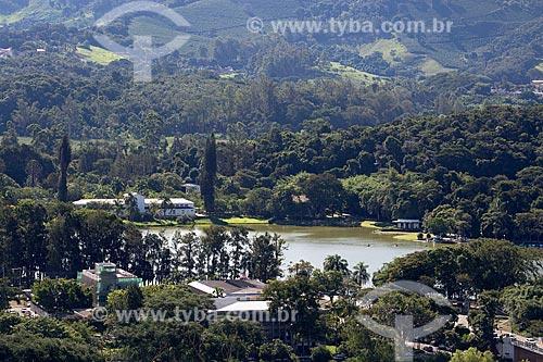 Vista geral do Parque das Águas São Lourenço  - São Lourenço - Minas Gerais (MG) - Brasil