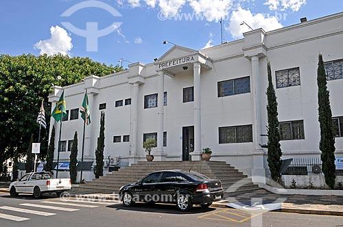 Fachada da Prefeitura da cidade de Bebedouro  - Bebedouro - São Paulo (SP) - Brasil