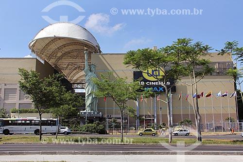 Réplica da Estátua da Liberdade no Shopping New York City Center  - Rio de Janeiro - Rio de Janeiro (RJ) - Brasil