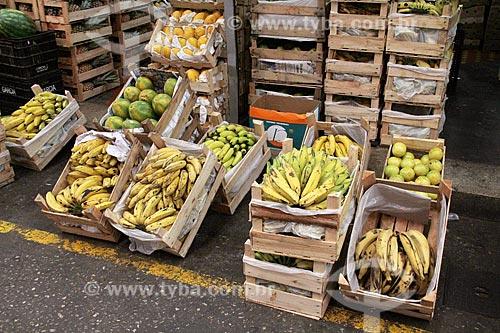 Frutas à venda no Centro de Abastecimento da Guanabara (CADEG)  - Rio de Janeiro - Rio de Janeiro (RJ) - Brasil