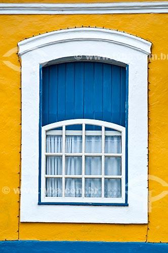 Detalhe de casa em Iguape  - Iguape - São Paulo (SP) - Brasil
