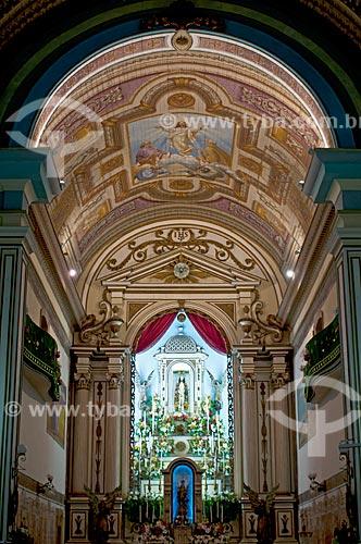 Interior da Basílica Senhor Bom Jesus de Iguape e Nossa Senhora das Neves  - Iguape - São Paulo (SP) - Brasil