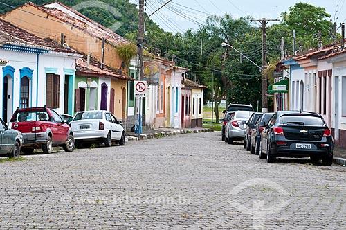 Fachada de casarios em Iguape  - Iguape - São Paulo (SP) - Brasil