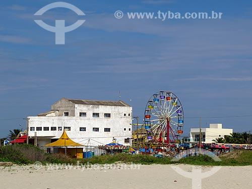 Parque de diversões próximo à praia da cidade de Ilha Comprida  - Ilha Comprida - São Paulo (SP) - Brasil