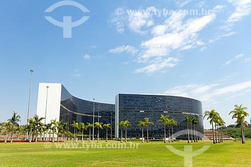 Prédio Minas e Prédio Gerais - sede das Secretarias do Governo do Estado - na Cidade Administrativa Presidente Tancredo Neves (2010)  - Belo Horizonte - Minas Gerais (MG) - Brasil
