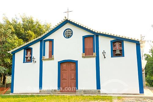 Fachada da Igreja de São Francisco de Paula  - Tiradentes - Minas Gerais (MG) - Brasil