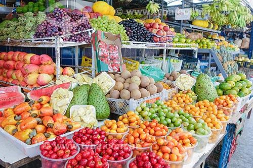 Frutas à venda no mercado de Tambaú  - João Pessoa - Paraíba (PB) - Brasil