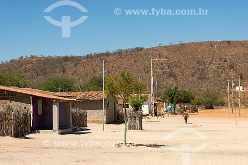 Casas na Aldeia Capoeira do Barro - Tribo Pipipãs  - Floresta - Pernambuco (PE) - Brasil