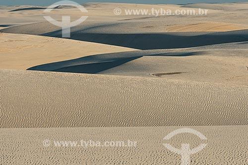 Dunas - Parque Nacional dos Lençóis Maranhenses  - Barreirinhas - Maranhão (MA) - Brasil