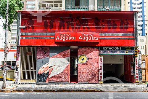 Fachada do Teatro Augusta  - São Paulo - São Paulo (SP) - Brasil