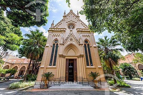 Fachada de capela na Santa Casa de Misericórdia de São Paulo  - São Paulo - São Paulo (SP) - Brasil